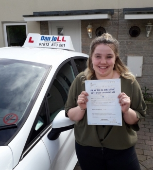 A brilliant result today for Abbie, a very well deserved FIRST time pass to be proud of. Been an absolute pleasure helping you through and get out and enjoy your very own Fiesta!!!