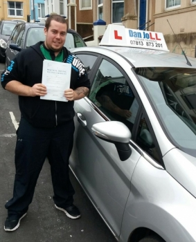 A good day for Dave! Woke up this morning expecting a normal driving lesson, checked for test cancellations and has this afternoon passed his driving test with just 2 faults. Absolutely fantastic. Well done Dave!